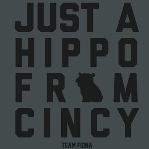 Just A Hippo From Cincy - Cincy Shirts
