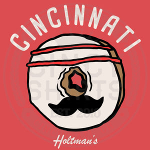 Holtman's Baseball Donut - Youth Sizes - Cincy Shirts