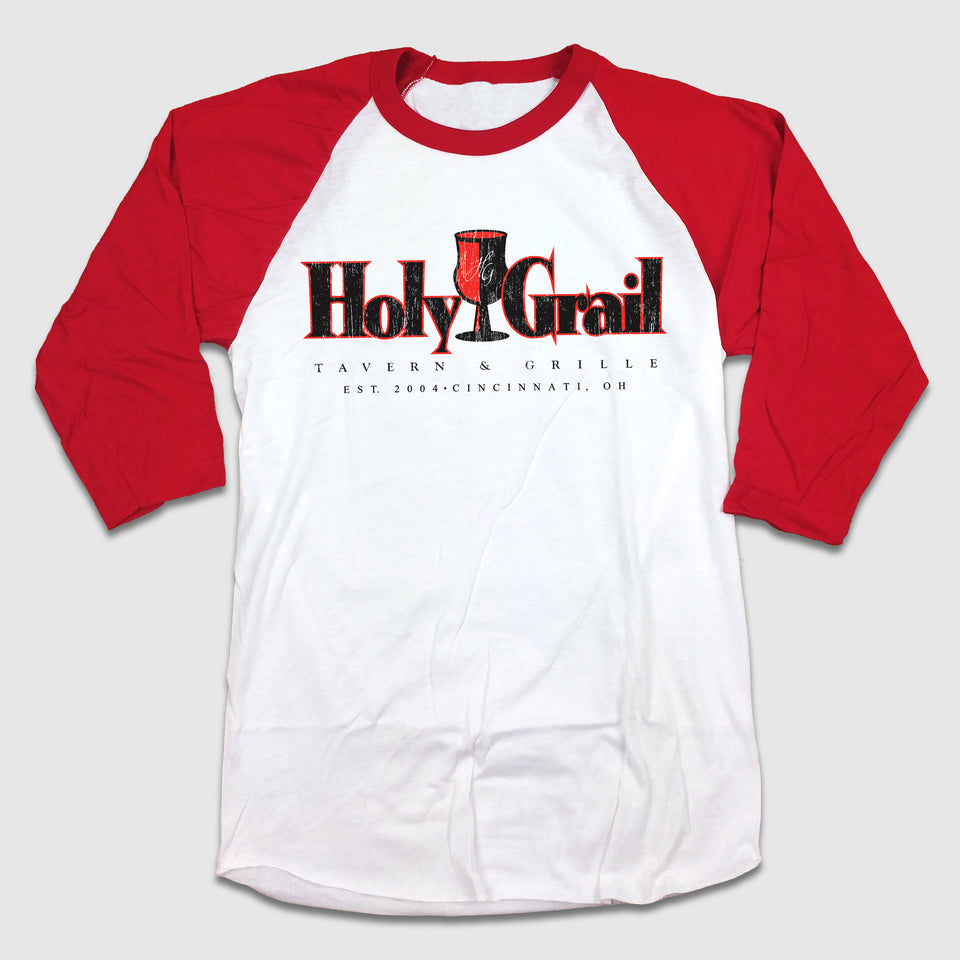 Holy Grail Tavern & Grille 2 Color Distress - Cincy Shirts