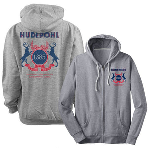 Hudepohl Pure Lager Zip up Hoodie image