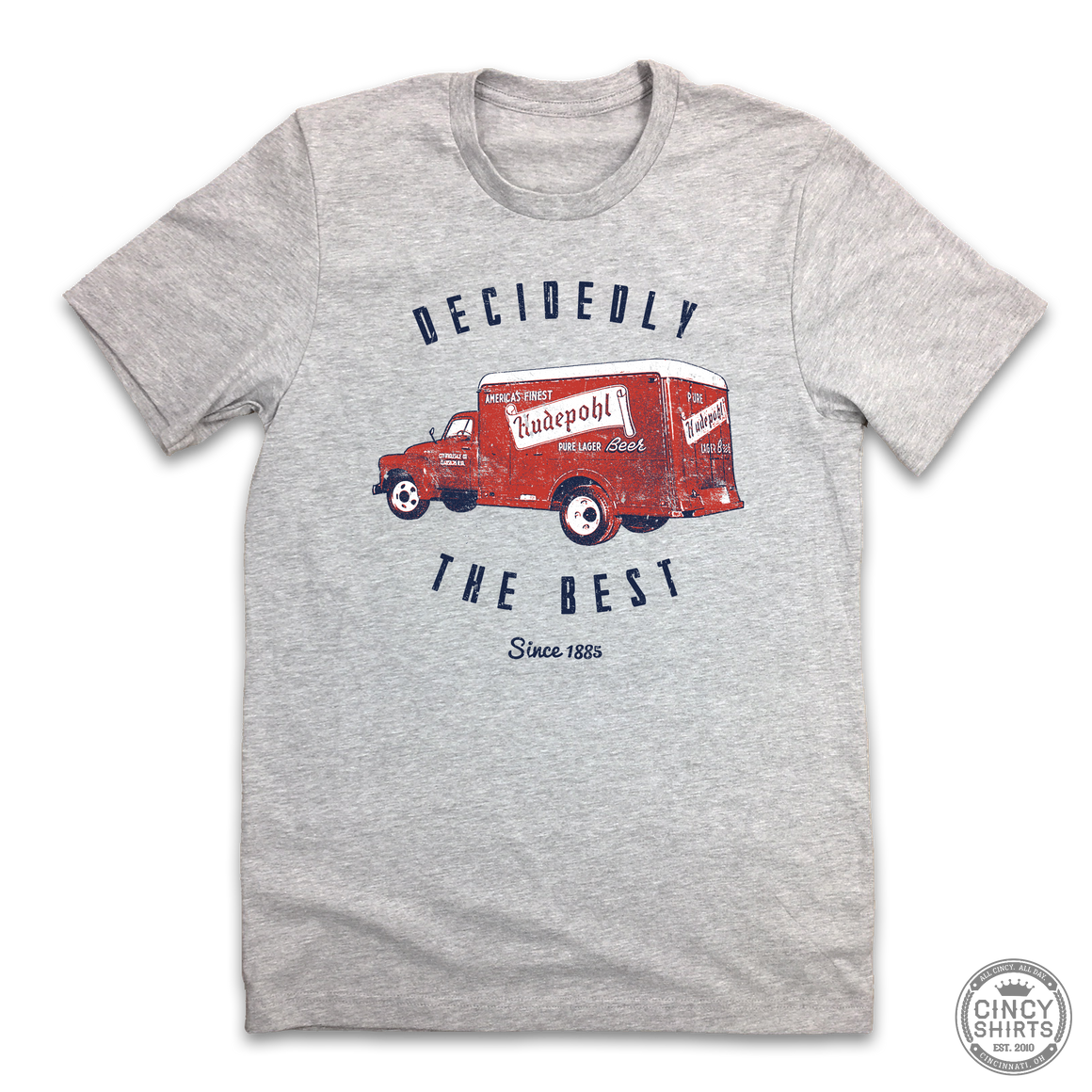 Vintage Hudepohl Delivery Truck - Cincy Shirts