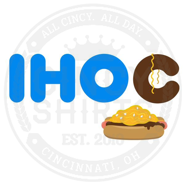 "IHOC ""International House Of Chili"" - ONLINE EXCLUSIVE - Cincy Shirts"