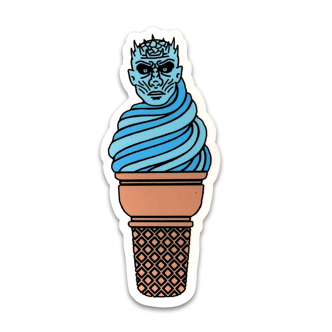 Ice King Cone Sticker