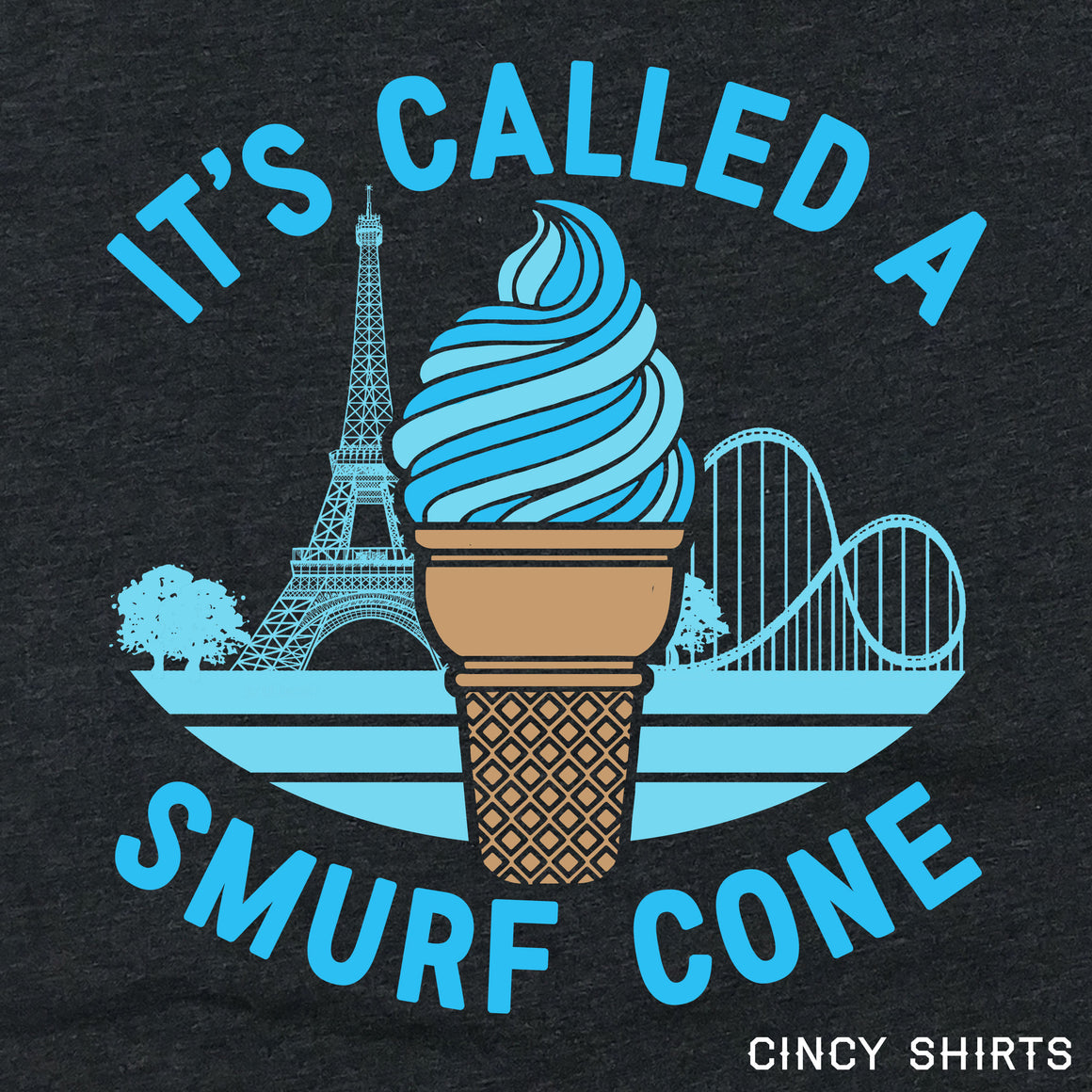 It's Called a Smurf Cone logo image