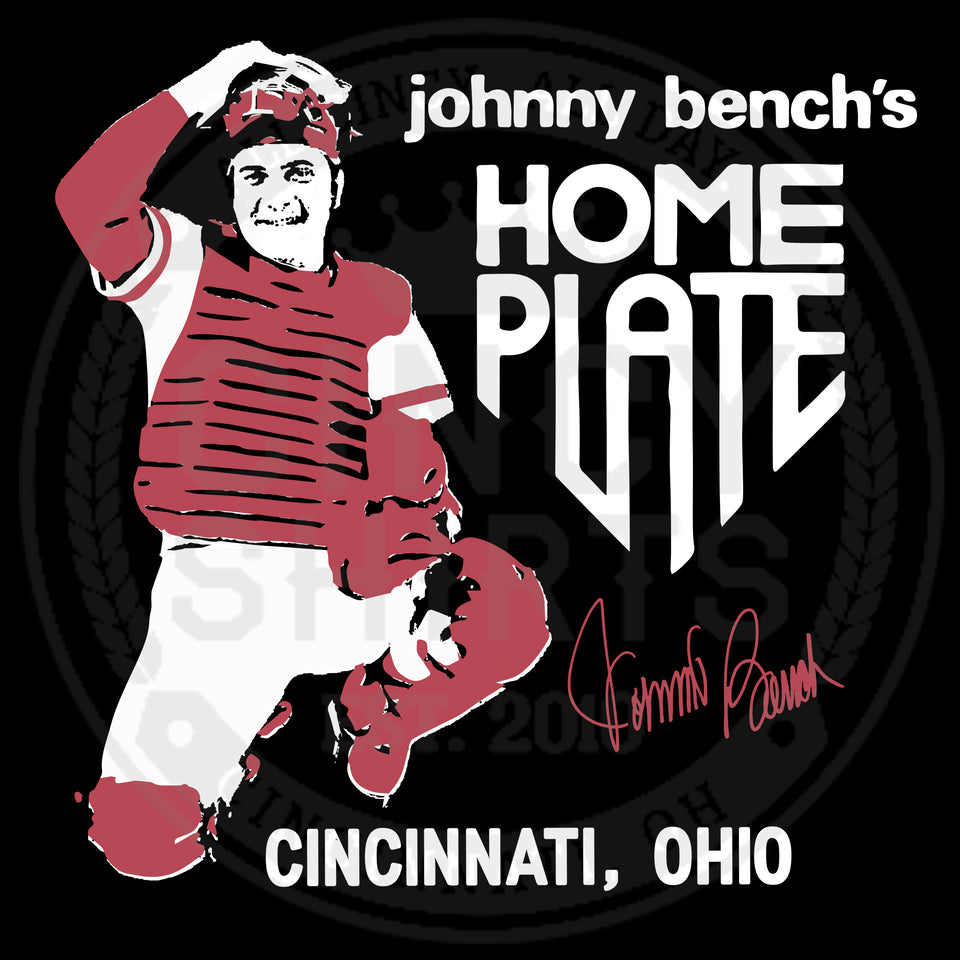 Johnny Bench's Home Plate Restaurant - Cincy Shirts