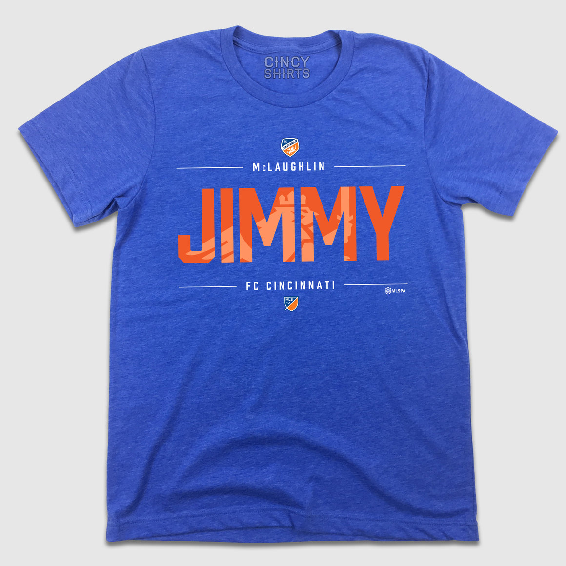 Jimmy McLaughlin MLS FC Cincinnati T-shirt