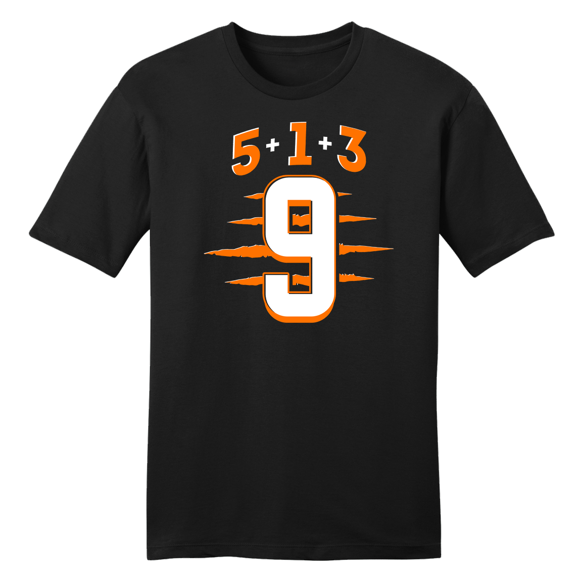 Joe 5+1+3=9 Tee - Cincy Shirts
