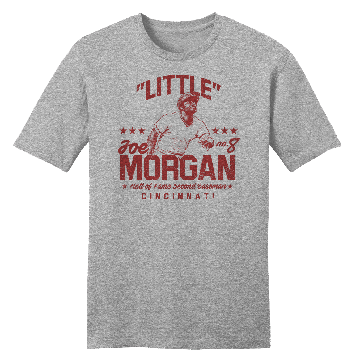 """Little"" Joe Morgan - Hall of Fame Second Baseman T-shirt"