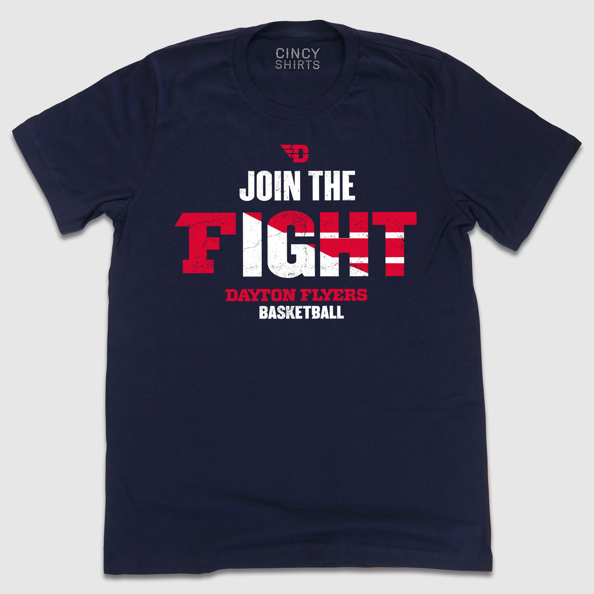 #JointheFight Dayton Flyers Basketball - Cincy Shirts