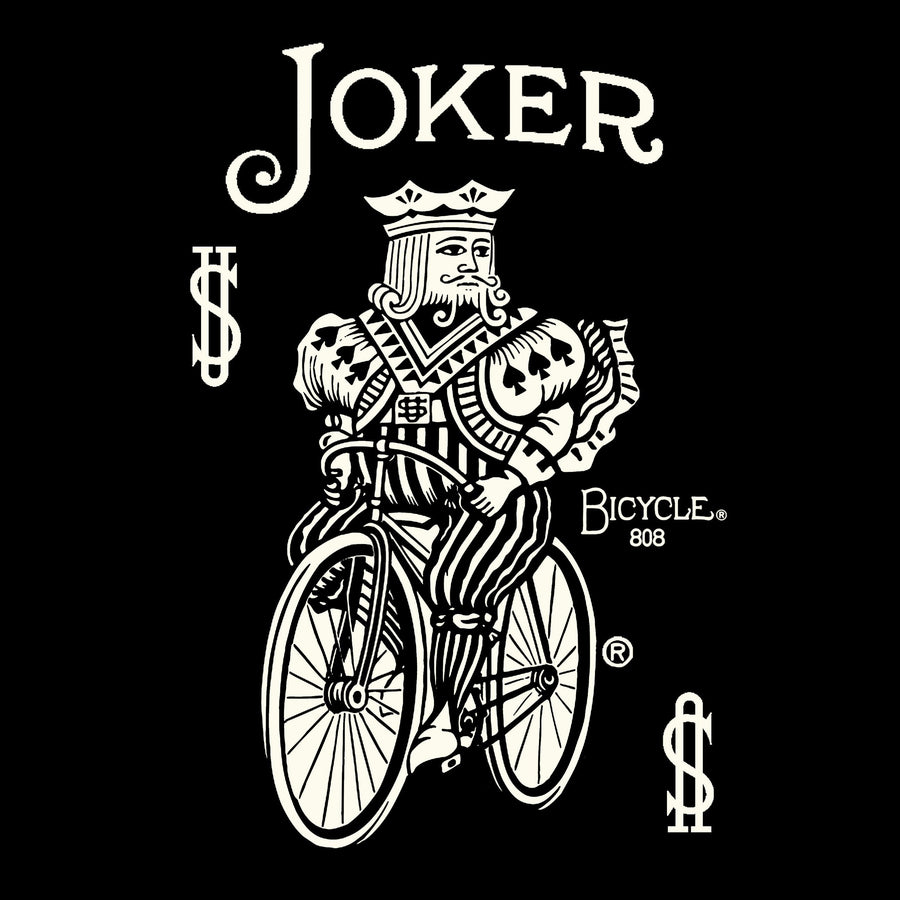 US Playing Card Bicycle Joker T-shirt