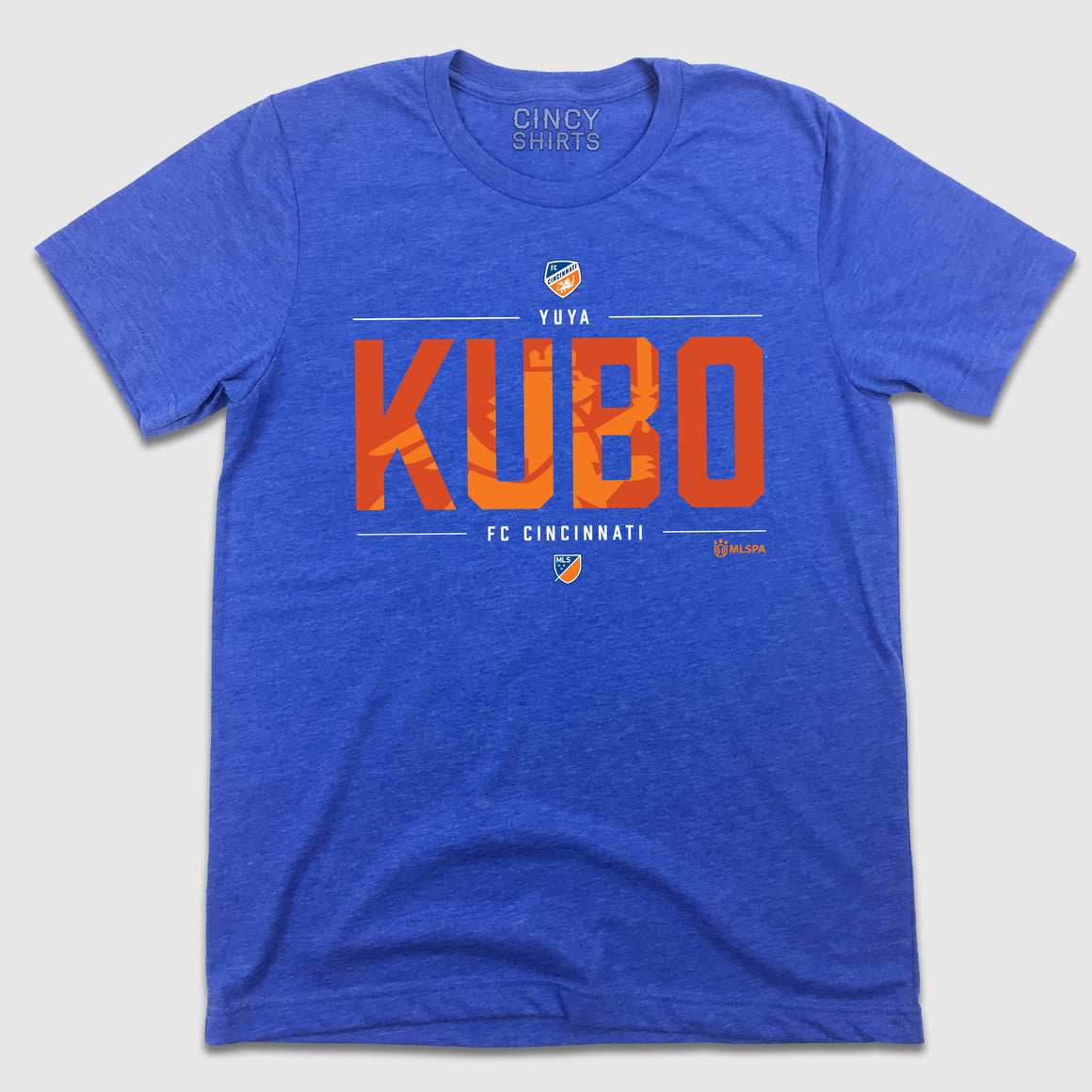 Official Yuya Kubo MLSPA Designer Tee - Cincy Shirts