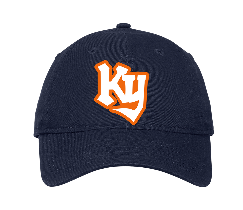 Kentucky Knights Navy Blue Adjustable Cap (Unstructured) - Cincy Shirts