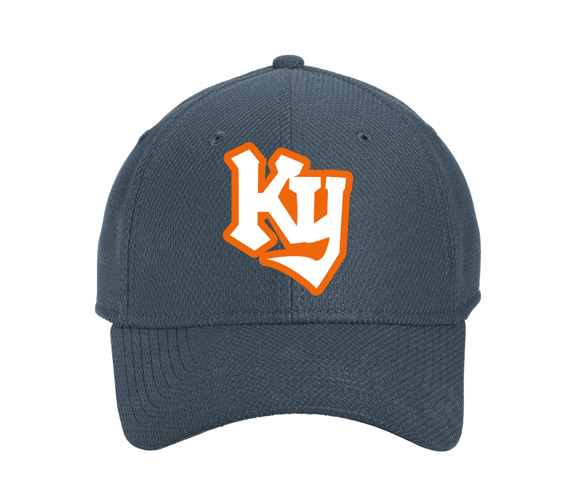 Kentucky Knights Navy Blue Adjustable Stretch Cap (Structured) - Cincy Shirts