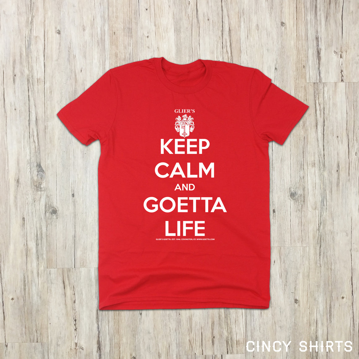 Keep Calm and Goetta Life - Glier's Goetta - Youth Sizes