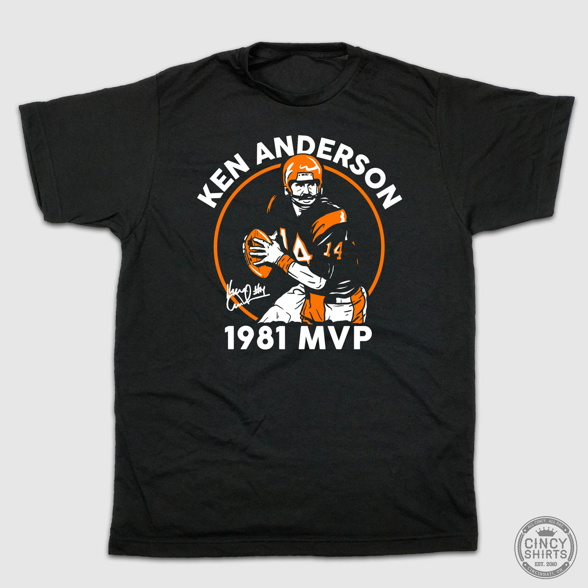 Ken Anderson 1981 MVP - Cincy Shirts