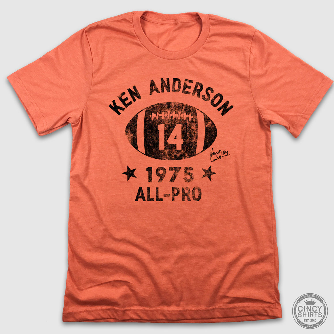 Ken Anderson Football Logo - Cincy Shirts