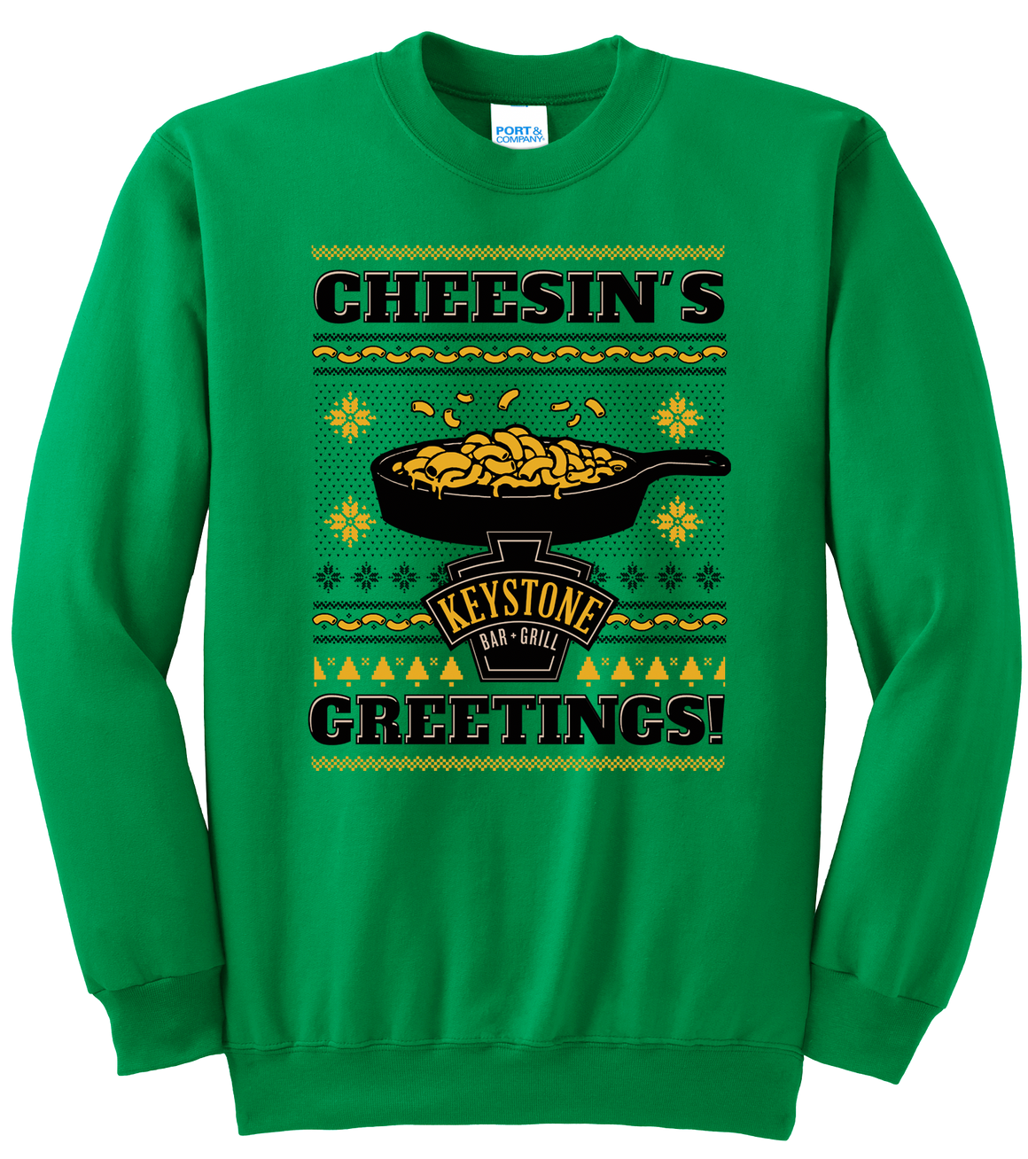 Keystone Bar + Grill Cheesin's Greetings - Cincy Shirts