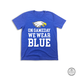 On Game Day We Wear Blue - Youth Sizes