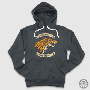 King In The North - Football Hoodie