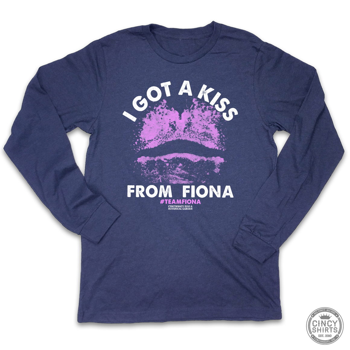I Got A Kiss From Fiona - Adult Long Sleeve Tee
