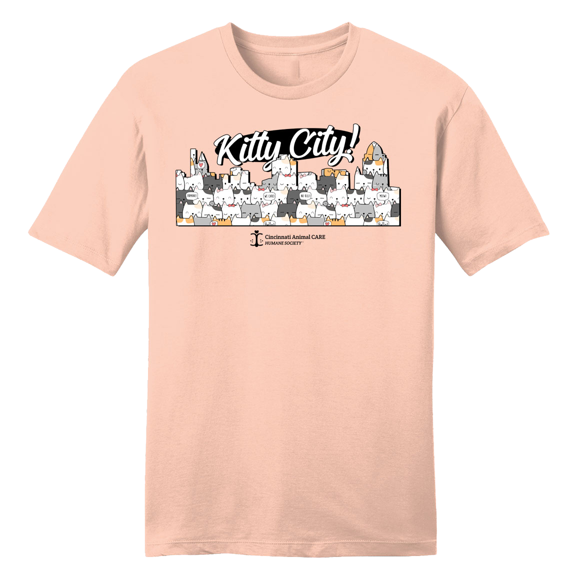 Kitty City - CARE - Cincy Shirts