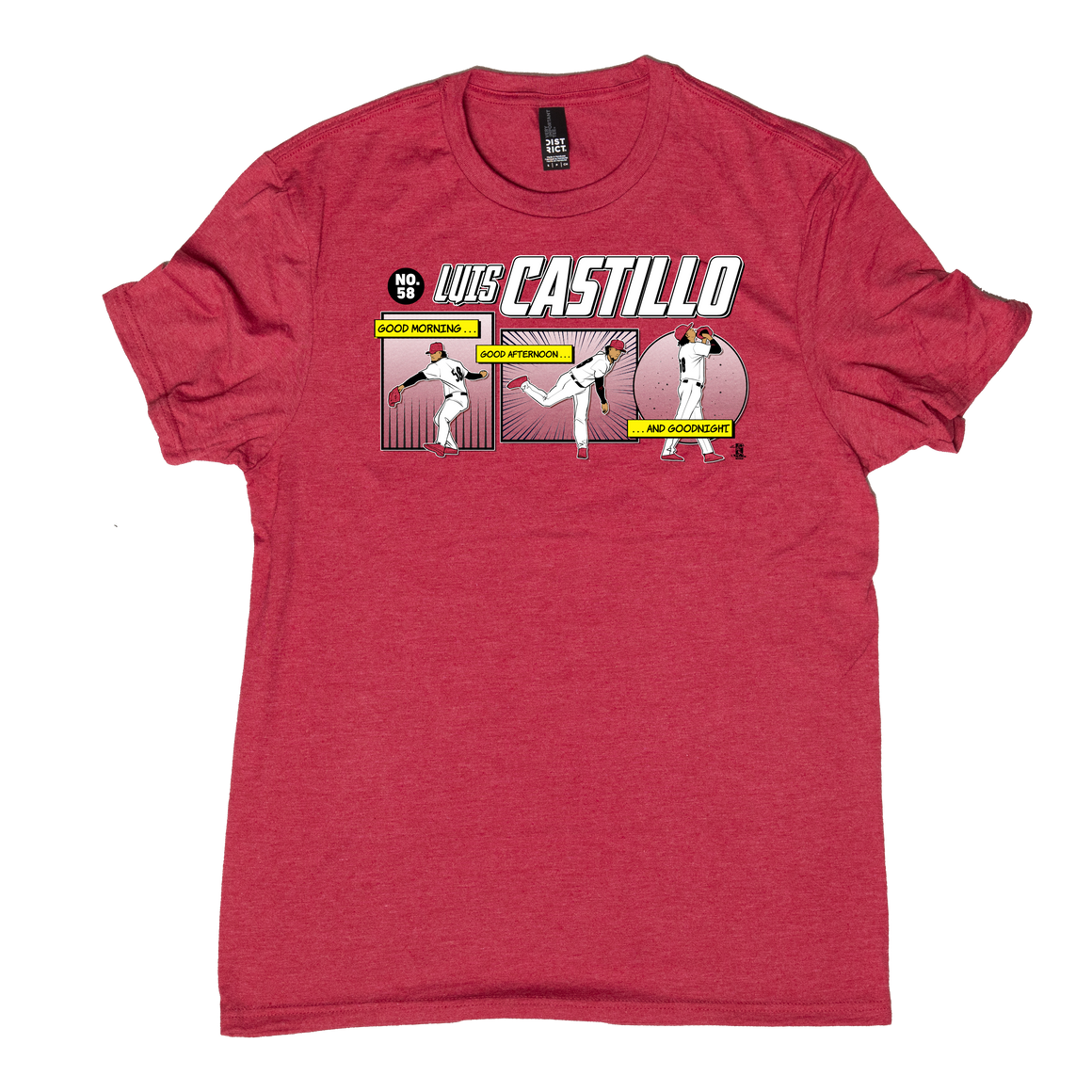 Luis Castillo -  Good Morning, Good Afternoon, and Goodnight T-shirt