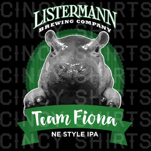 Listermann Brewing Team Fiona Beer logo image