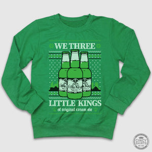 We Three Little Kings Ugly Christmas Sweatshirt - Cincy Shirts