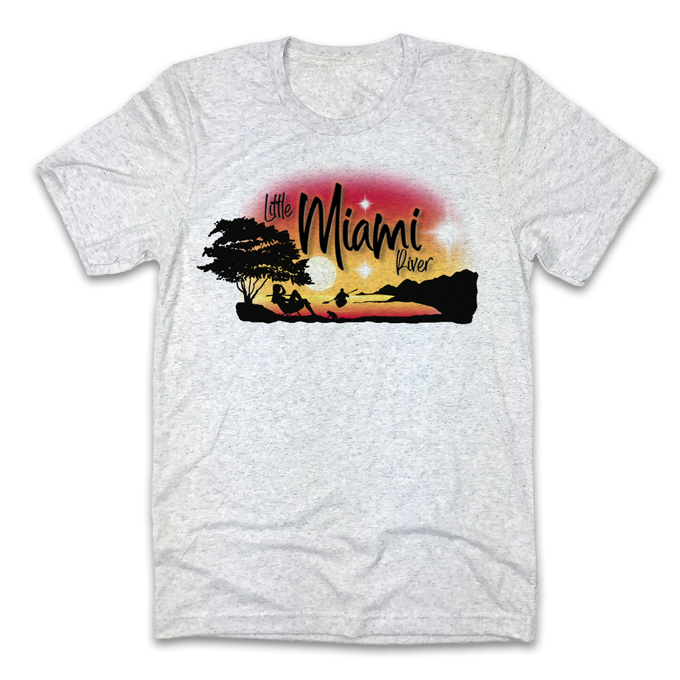 Little Miami River Airbrush - Cincy Shirts