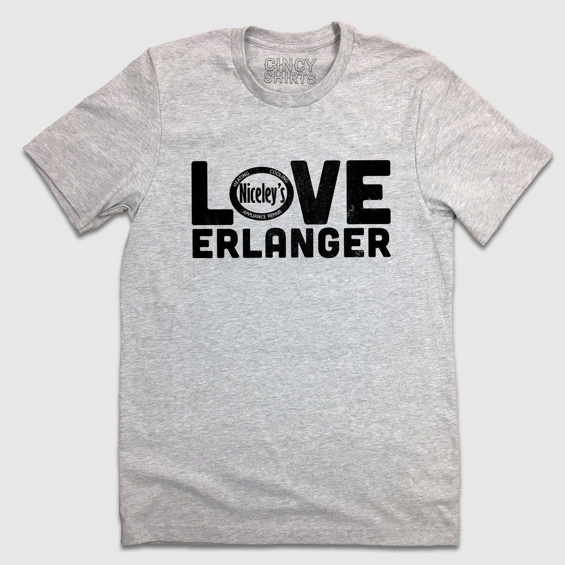 Love Erlanger - Niceley's Heating & Cooling - Cincy Shirts