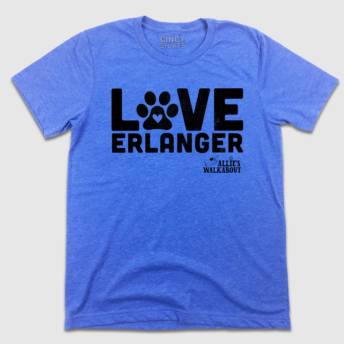 Love Erlanger - Allie's Walkabout - Cincy Shirts