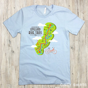 Loveland Bike Trail T-shirt