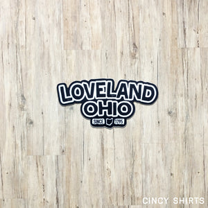 Loveland, Ohio - Sticker
