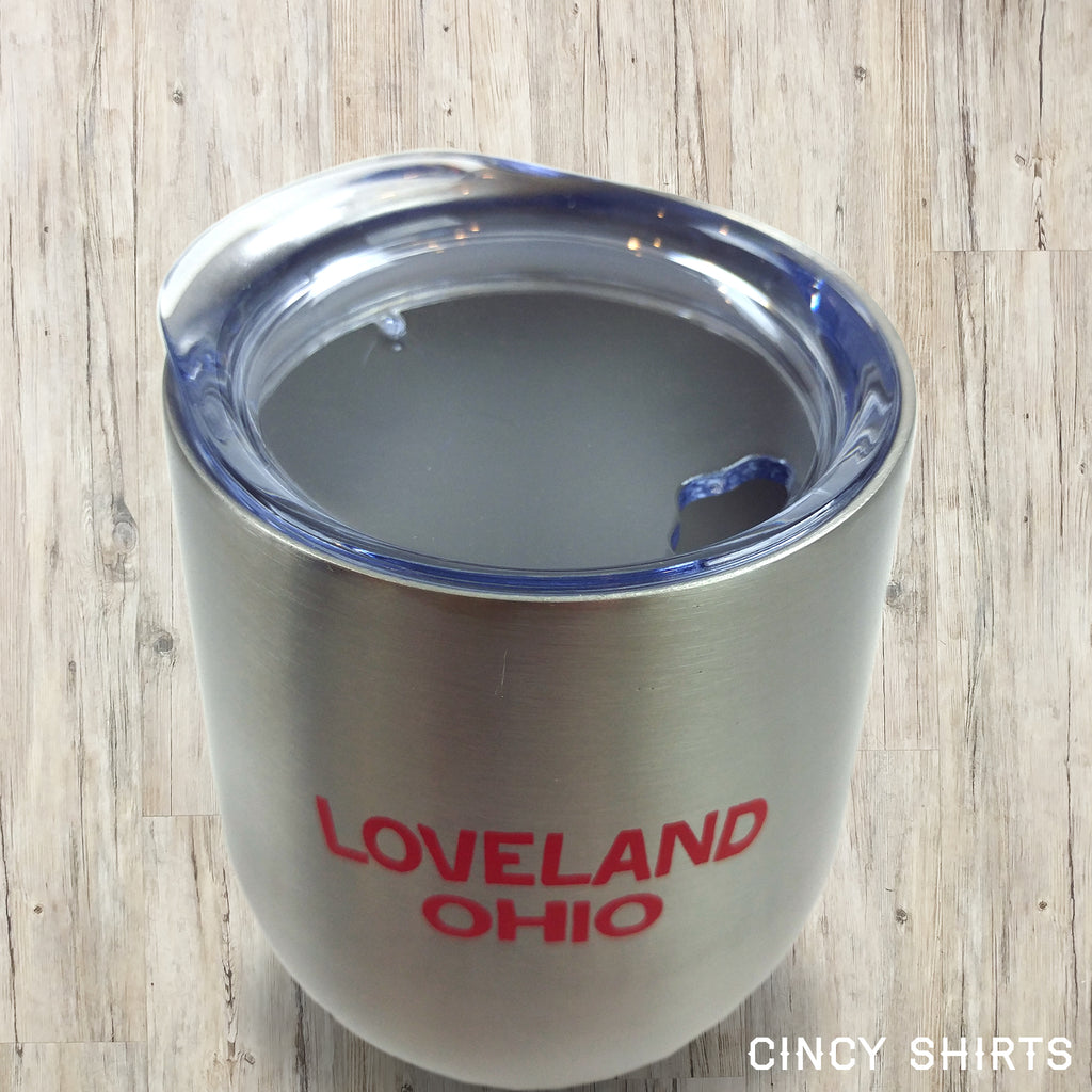 Loveland, Ohio Stainless Steel Wine Tumbler