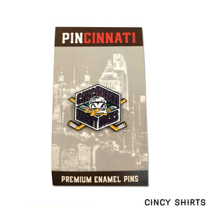 Cincinnati Mighty Ducks Enamel Pin