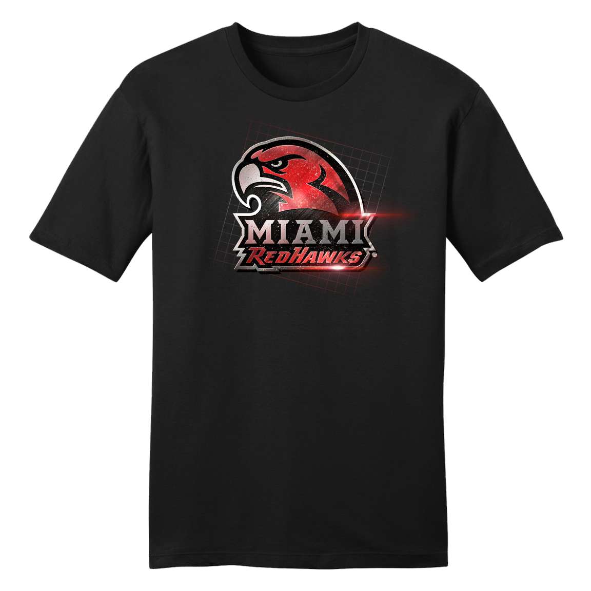 Miami University Chrome Logo Tee