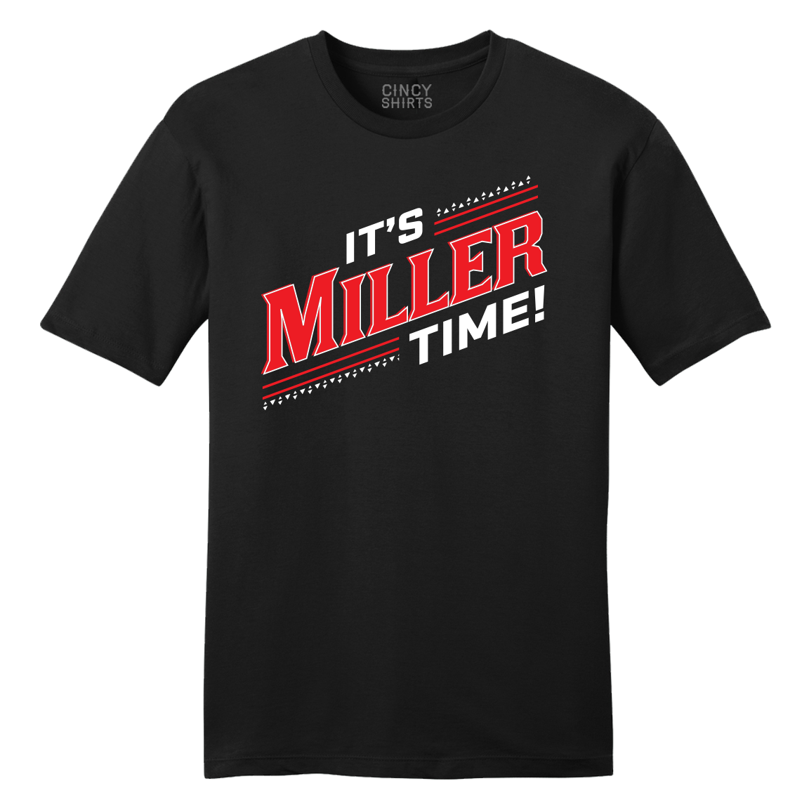 Miller Time Cincinnati Basketball T-shirt