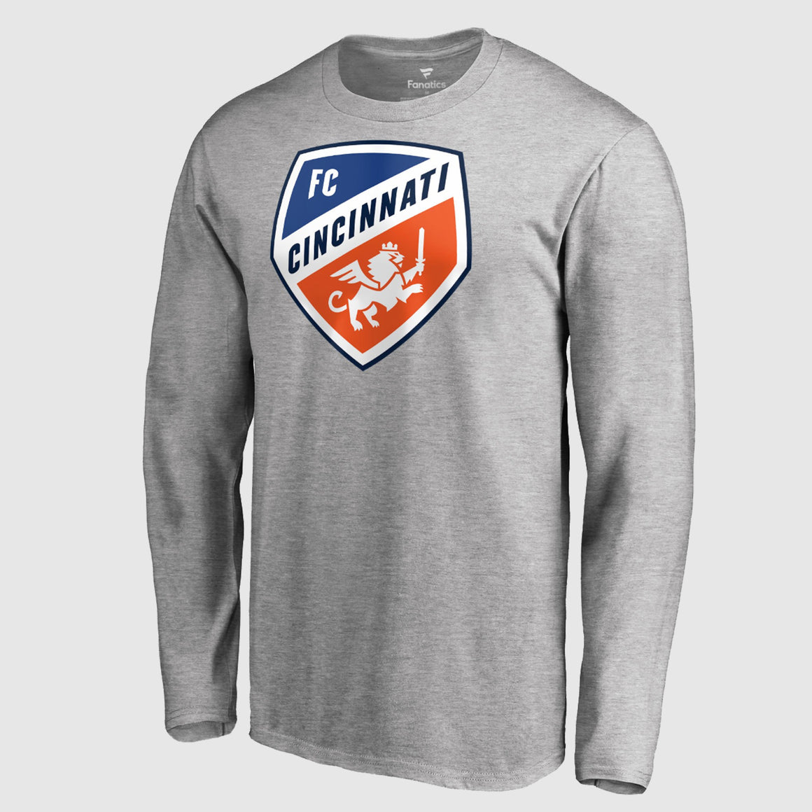 Official FC Cincinnati Gray Primary Crest Logo