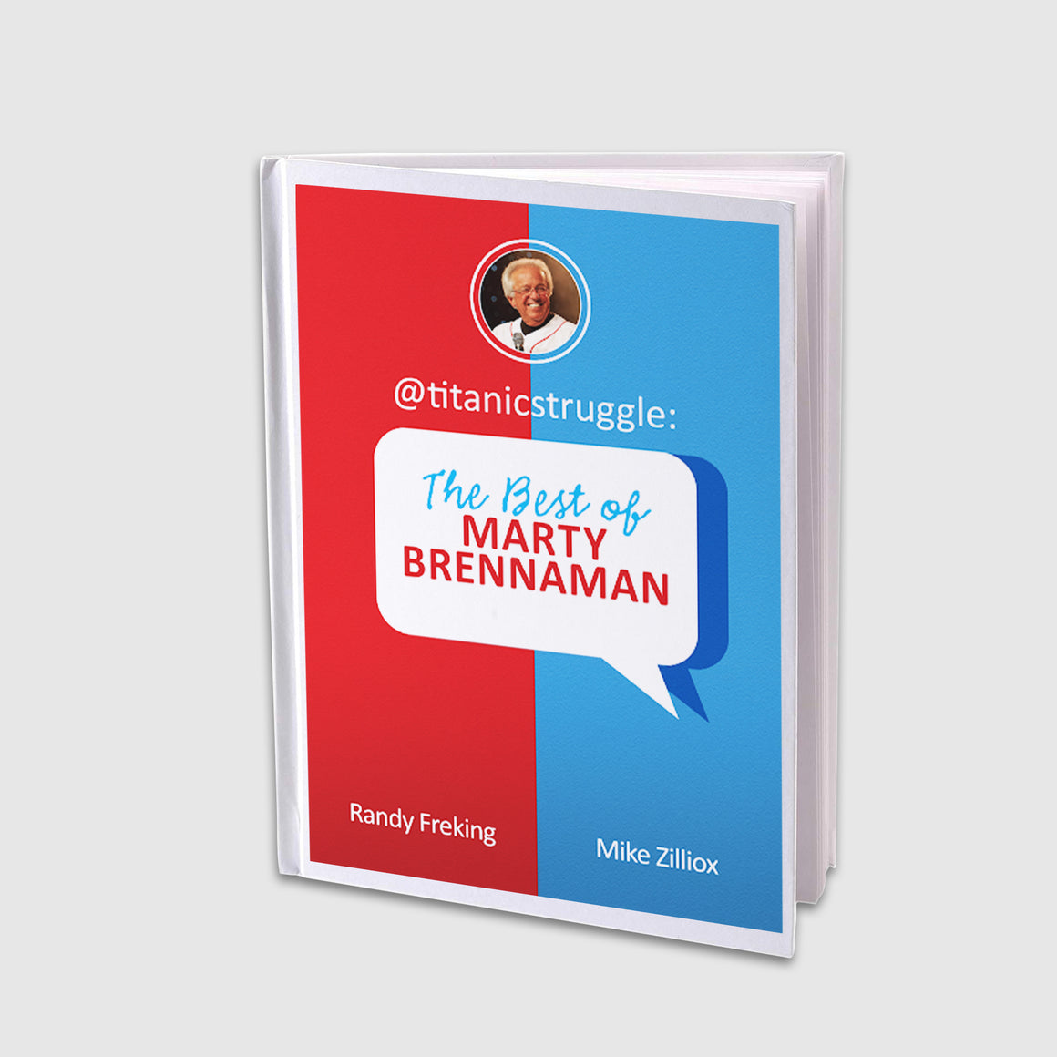 @titanicstruggle: The Best of Marty Brennaman Book cover