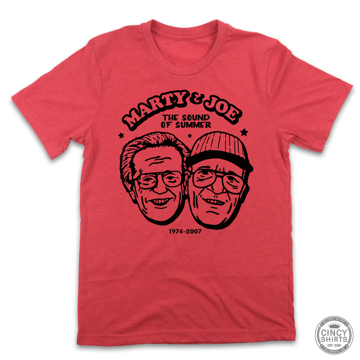 Marty & Joe The Sound of Summer - Cincy Shirts