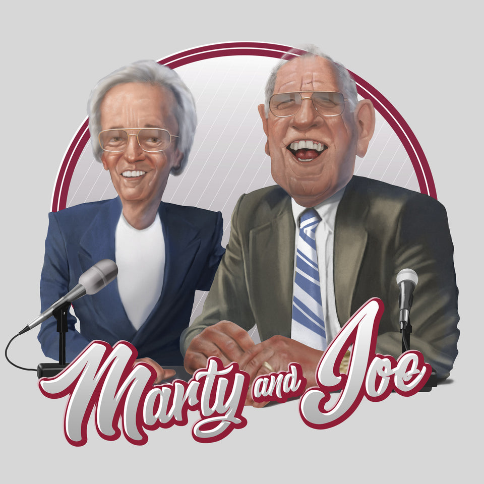 Marty and Joe - Hall of Heroes - Cincy Shirts