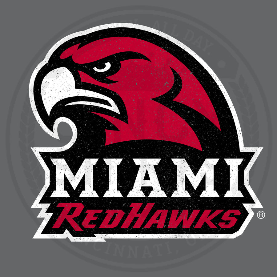 Miami Redhawks Logo - Cincy Shirts