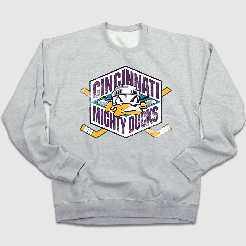 Mighty Ducks Crewneck Sweatshirt - Cincy Shirts