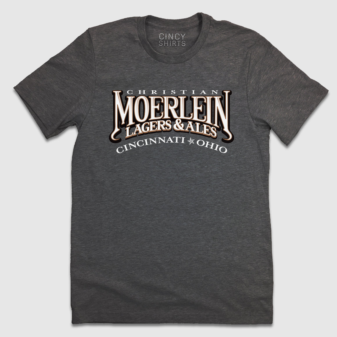 Moerlein Lagers & Ales - Unisex T-Shirt - Cincy Shirts