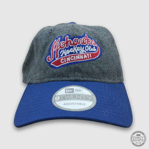 Cincinnati Mohawks Curved Bill Hat - Cincy Shirts