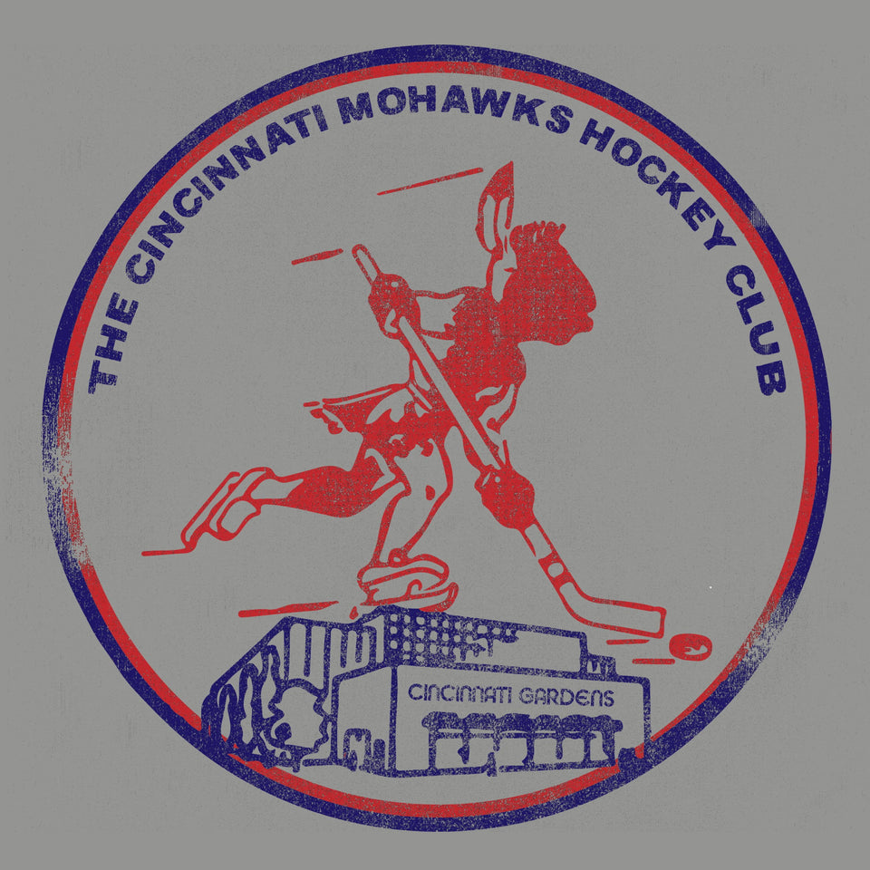 Cincinnati Mohawks & The Gardens Logo - Cincy Shirts