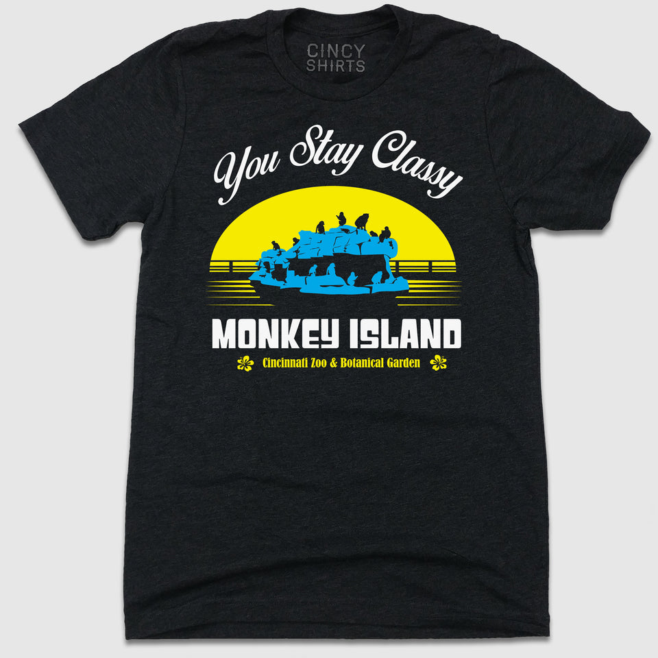 Stay Classy Monkey Island - Cincy Shirts