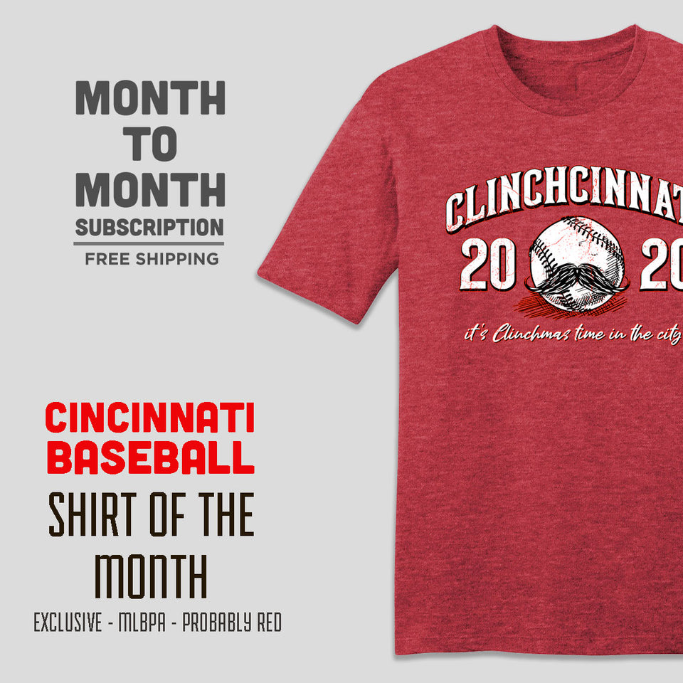Cincinnati Baseball SUB M2M - Cincy Shirts
