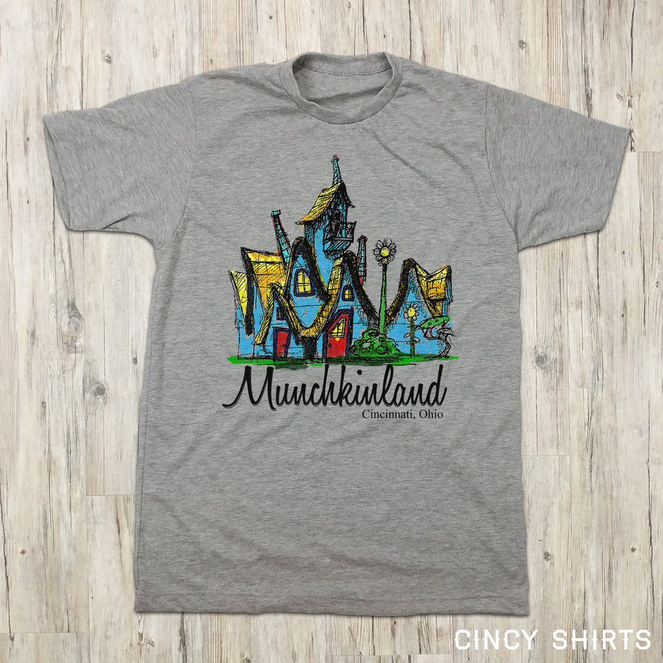 Munchkinland - Cincy Shirts