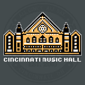 8-Bit Music Hall - Cincy Shirts